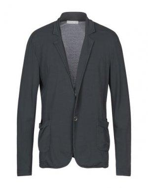 Пиджак DANIELE FIESOLI. Цвет: свинцово-серый