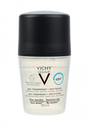 Дезодорант Vichy HOMME 48ч против пятен, 50 мл. Цвет: прозрачный