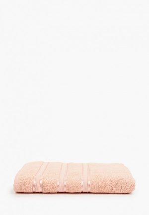 Полотенце Эго SAFIA HOME, 70х135 см. Цвет: коралловый