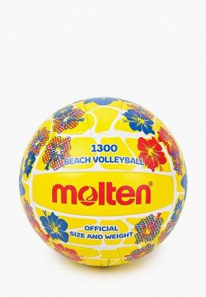 Мяч волейбольный Molten для пляжного волейбола. Цвет: желтый