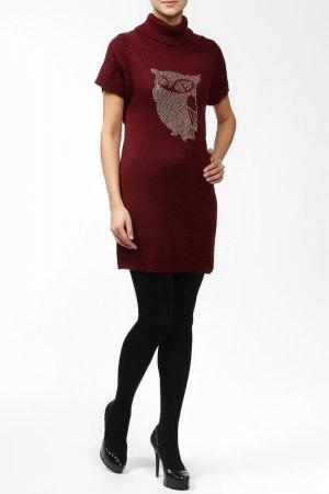 Платье GINGER+SOUL. Цвет: красный