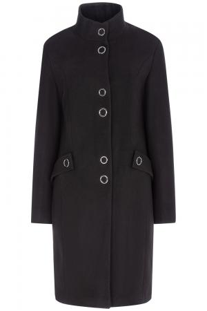 Пальто с воротником-стойкой Elema