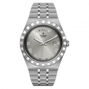 Часы Royal Tudor. Цвет: серебряный