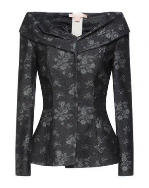 Пиджак BROCK COLLECTION. Цвет: черный