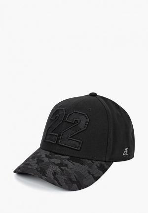 Бейсболка Atributika & Club™ №22. Цвет: черный