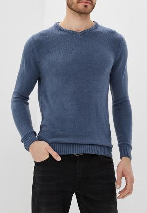 Пуловер Hopenlife. Цвет: синий