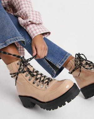 Походные ботинки Pando-Бежевый Gestuz