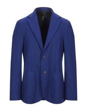 Пиджак HEVÒ. Цвет: синий