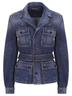 Куртка-пиджак джинсовая YSL