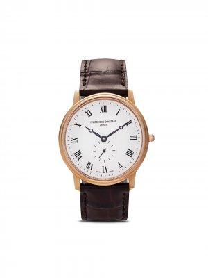 Наручные часы Constant Slimline 37 мм Frédérique. Цвет: розовый