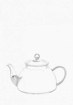 Чайник заварочный Elan Gallery 750 мл. Цвет: прозрачный