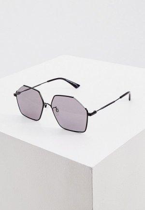 Очки солнцезащитные McQ Alexander McQueen MQ0258S 001. Цвет: черный