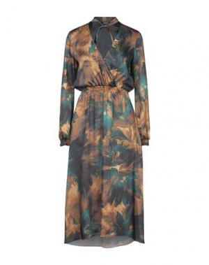 Платье длиной 3/4 SISTE' S. Цвет: цвет морской волны