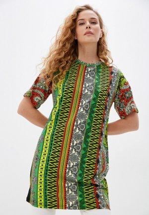 Платье Blacksi. Цвет: разноцветный