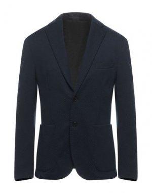 Пиджак EREDI DEL DUCA. Цвет: темно-синий