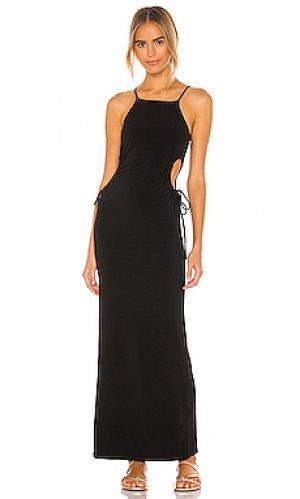 Платье callback NBD. Цвет: черный