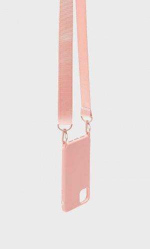Подвесной Чехол Для Iphone 11 Розовый 103 Stradivarius. Цвет: розовый