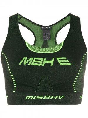 Укороченный топ Active Future Misbhv. Цвет: зеленый