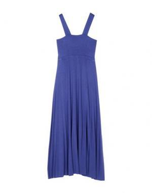 Длинное платье ALISA. Цвет: синий