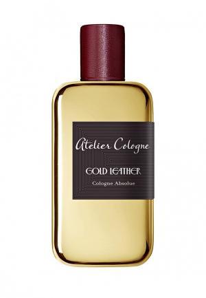 Парфюмерная вода Atelier Cologne GOLD LEATHER Absolue 100 мл. Цвет: прозрачный