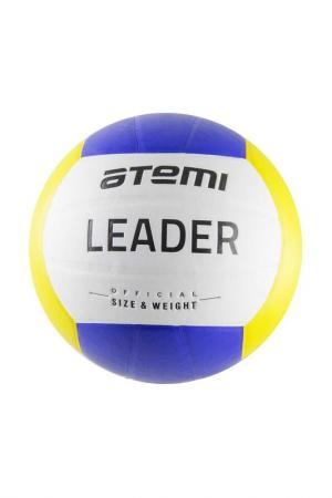 Мяч волейбольный LEADER Atemi. Цвет: сене-желтый