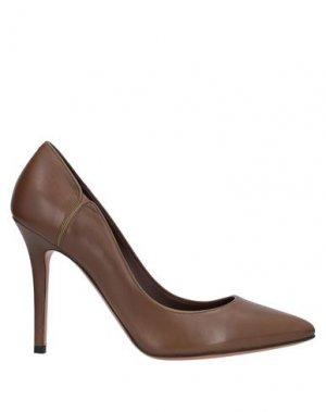 Туфли BRUNO MAGLI. Цвет: коричневый