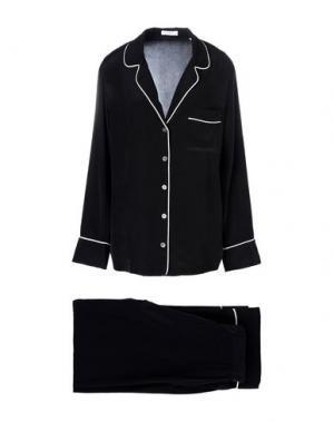Пижама EQUIPMENT. Цвет: черный