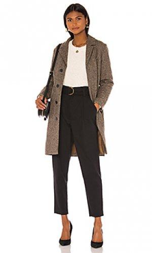 Пальто manteau A.P.C.. Цвет: коричневый