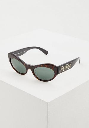 Очки солнцезащитные Versace VE4356 108/71. Цвет: черный
