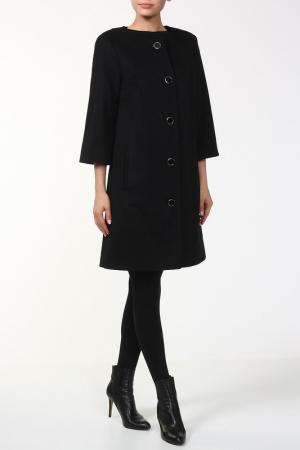 Пальто Марта Веталика. Цвет: черный