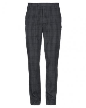 Повседневные брюки DOCKERS. Цвет: свинцово-серый