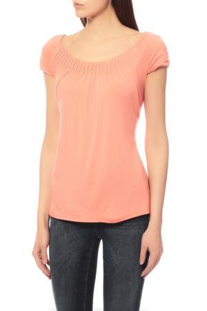 Блуза Comma. Цвет: оранжевый