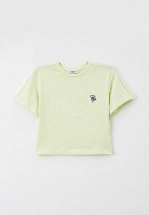 Футболка Baon. Цвет: зеленый