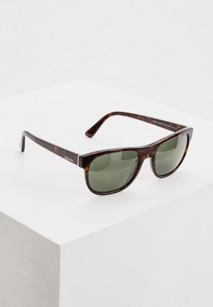 Очки солнцезащитные Prada 0PR 04XS 2AU0B2. Цвет: коричневый