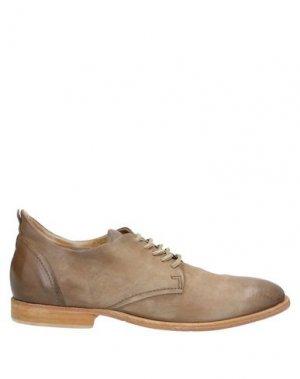 Обувь на шнурках AIR STEP. Цвет: песочный