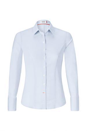 Рубашка Vincenzo Boretti. Цвет: голубой