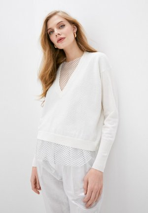 Пуловер Nude. Цвет: белый