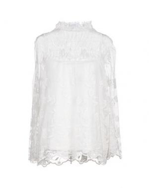 Блузка ANNA RACHELE JEANS COLLECTION. Цвет: белый