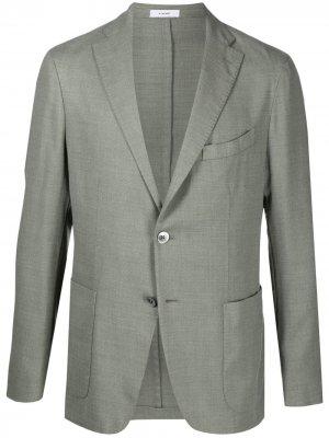 Легкий пиджак Boglioli. Цвет: зеленый