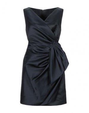 Короткое платье DICE KAYEK. Цвет: темно-синий