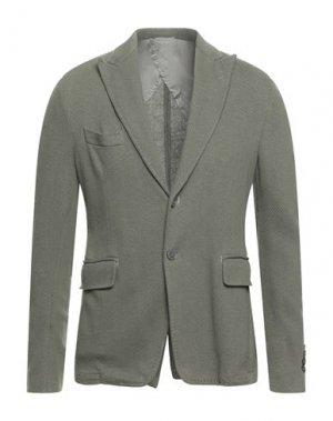 Пиджак JOHN SHEEP. Цвет: зеленый-милитари