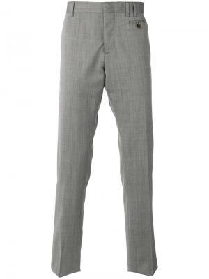 Костюмные брюки Vivienne Westwood Man. Цвет: серый