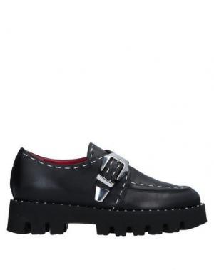 Обувь на шнурках 181 by ALBERTO GOZZI. Цвет: черный