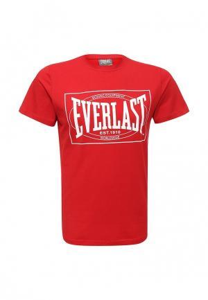 Футболка Everlast Choice of Champions. Цвет: красный