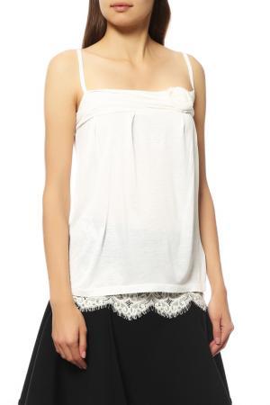 Топ Dior. Цвет: белый