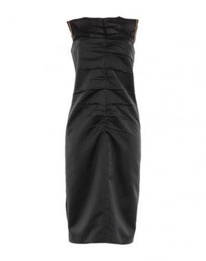 Платье длиной 3/4 N°21. Цвет: черный