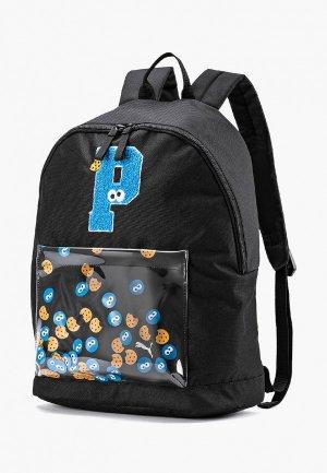Рюкзак PUMA Sesame Street Backpack Sport. Цвет: черный