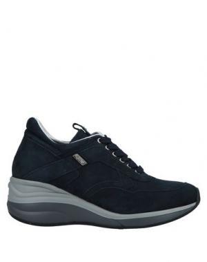 Низкие кеды и кроссовки CESARE PACIOTTI 4US. Цвет: темно-синий