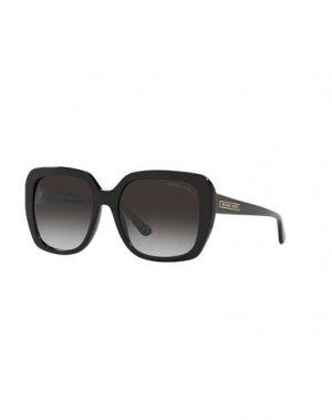 Солнечные очки MICHAEL KORS. Цвет: черный