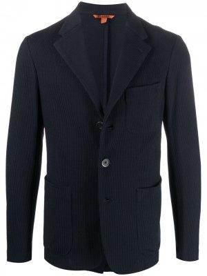 Однобортный пиджак Barena. Цвет: синий